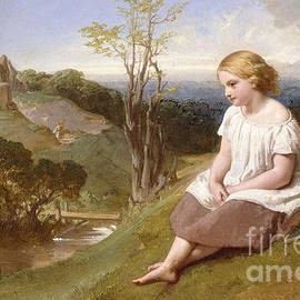 Daydreaming on the River Bank - Henry Lejeune