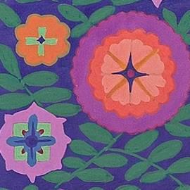 Marcella Blood - Deco Flowers 1