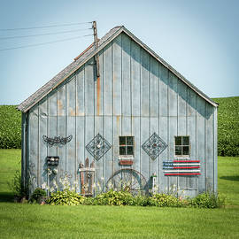Paul Freidlund - Decorated Barn