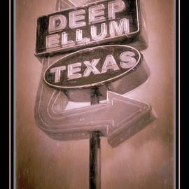 Joan Carroll - Deep Ellum Pink Poster