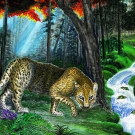 Zong Yi - Deep In Jungle - leopard
