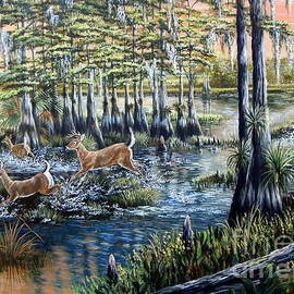 Daniel Butler - Deer and dogs- A Southern tradition