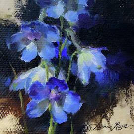 Delphinium II - Anna Rose Bain