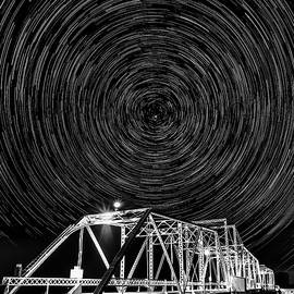 PhotoWorks By Don Hoekwater - Delta Bridge Star Trails