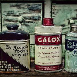 Paul Ward - Dentist - Vintage Tooth Powder