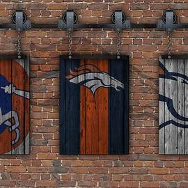 DENVER BRONCOS BRICK WALL - Joe Hamilton