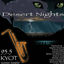 Joe Roselle - Desert Nights CD Cover