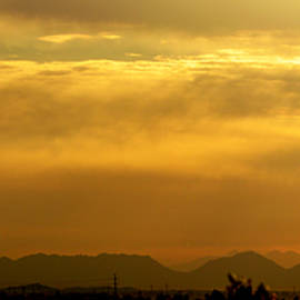 Barbara Snyder - Desert Sunrise Surprise Arizona Photo