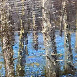 Sean Conlon - Detail from Bluebell splendour in Garryhinch