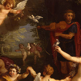 Detail of an Allegory of love - Jan Brueghel and Hendrik van Balen