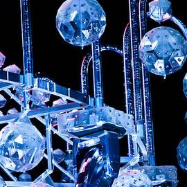 Miroslava Jurcik - Detail Of Blue Chandellier