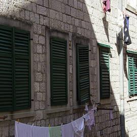 Zeljko Dozet - Detail Of Mediterranean City Street