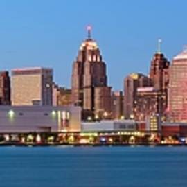 Frozen in Time Fine Art Photography - Detroit Panorama