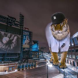 Nicholas  Grunas - Detroit Tigers at  Comerica Park