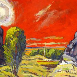 Charlie Spear - Diamond Sun in a Crimson Sky