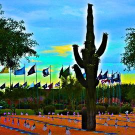 Richard Jenkins - Digital Art Vets Cemetery