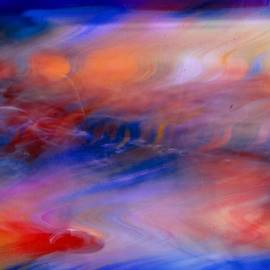 Suzanne Stout - Digital Watercolor Abstract