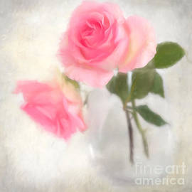 Carolyn Rauh - Digitally painted Water Color Roses