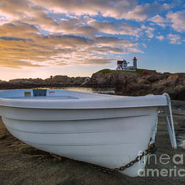 Jerry Fornarotto - Dinghy at Nubble Lighthouse