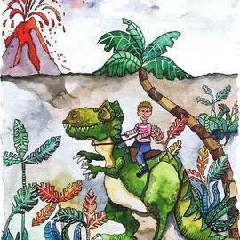 Shelley Wallace Ylst - Dinosaur Rider