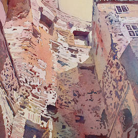 Diocletian Courtyard - Jenny Armitage