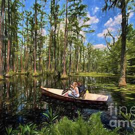 Dan Carmichael - Discovery in a Cypress Swamp AP