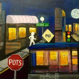 Larry Lamb - Dislexic Abstract