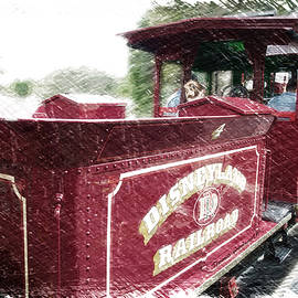 Thomas Woolworth - Disneyland Railroad Engine PA 04