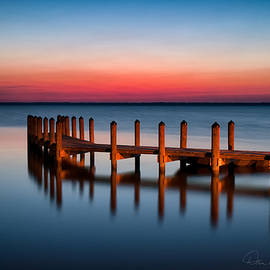 Dan Beauvais - Dock on Currituck Sound 5665