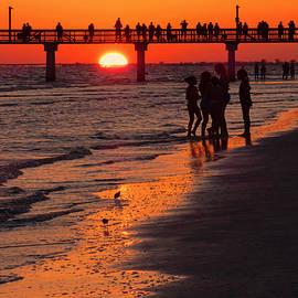 Rosalie Scanlon - Dock Sunset