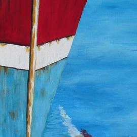 Beverly Livingstone - Docked Ship Reflections