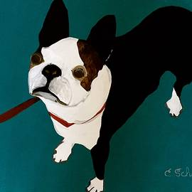 Christina Schott - Dog With Leash