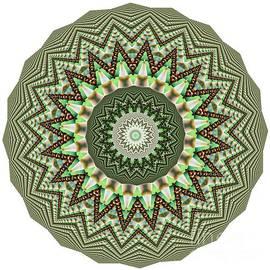 Kaye Menner - Dome of Chains Mandala by Kaye Menner