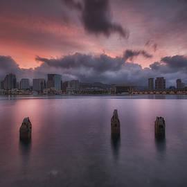 Alvin Douglass - Doomsdawn...Honolulu Cityscape
