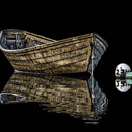 Marty Saccone - Dory and Mooring on Black