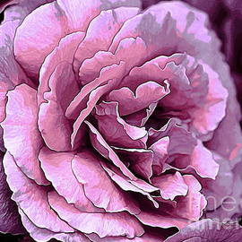 Erica Hanel - Double Pink Rose