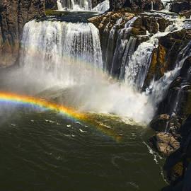 Vishwanath Bhat - Double Rainbow at Shoshone Falls in idaho