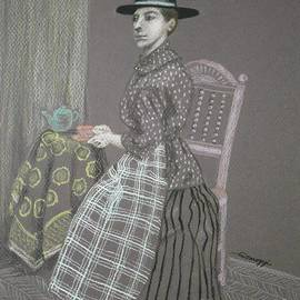 Jayne Somogy - Dour Dower -- Portrait of Welsh Woman in 1885