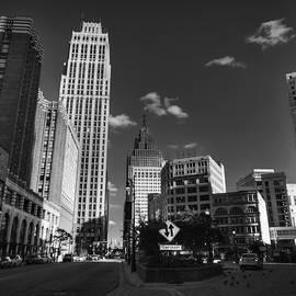 Lance Vaughn - Downtown Detroit 003 BW