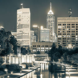 Gregory Ballos - Downtown Indianapolis Skyline