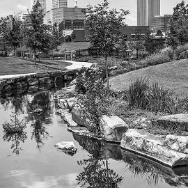 Gregory Ballos - Downtown Tulsa Oklahoma Skyline. Ca. 2008 - Black and White