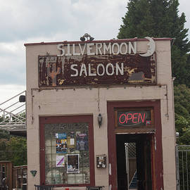 Suzanne Gaff - Downtown Winston Salem Series VI - Silvermoon Saloon