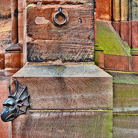 Andy Za - Dragon head. Strasbourg Cathedral.