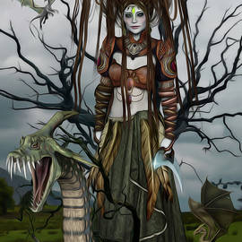 Surreal Photomanipulation - Dragon Queen