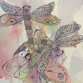 Ellen Levinson - Dragonflies and Butterfly