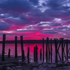 John Vose - Dramatic Maine Sunrise
