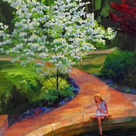 Nancy Paris Pruden - Dreaming of Dogwoods