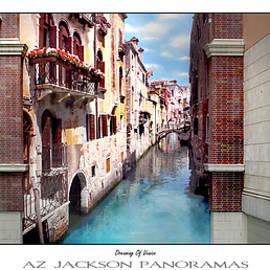 Dreaming Of Venice Poster Print - Az Jackson