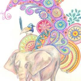 Cherie Sexsmith - Dreamy Elephant and Bird