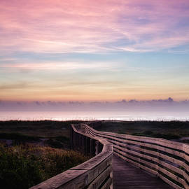 Dawna  Moore Photography - Dreamy Sunrise at the Beach